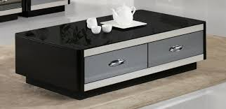 black coffee table with drawers coffee drinker