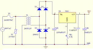 circuit diagram 15v dc power supply the wiring diagram regulated power supply wiring diagram