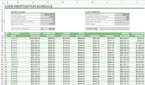 Mortage Amortization Table Schedule Template Excel Payoff Mortgage Calculator With