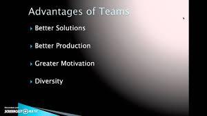 Disadvantages Of Teamwork Advantages And Disadvantages Of Teams Cesar Lara