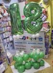 Decorazioni di palloncini per 18 anni