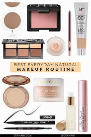 the best natural everyday makeup routine quick and easy beauty beautytips