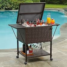 qt outdoor patio cooler table