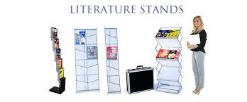 Display Stands Canada Simple Acrylic Brochure Display Stands Literature Holder E F A Portable