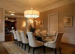 drum shade chandelier rustic dining room chandeliers for modern