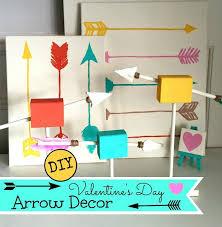 diy arrow decor valentine s day valentine s day decor diy easy dollar apurdylittlehouse com 17