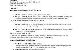 High School Job Resume Resume Work Template With Sample High