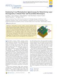 Employing X Ray Photoelectron Spectroscopy For Determining Layer