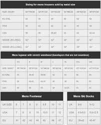 Dare2b Size Guide