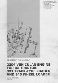 caterpillar engine specs bolt torques and manuals systems operation disassembly and assembly manual cover