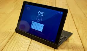 sony z4 tablet. xperia z4 tablet: slick and slim, with laptop aspirations sony tablet