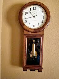 seth thomas no 2 wall regulator clock
