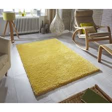 Rug For Living Room Ochre Mustard Yellow Gold Bright Shaggy Area Rug For Living Room