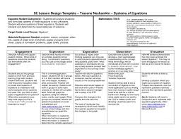 5e lesson plan systems of equations by wylie east high school issuu algebra plans for 5th grade p