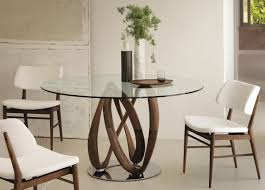 Modern Round Glass Dining Table Uk
