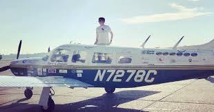 Florida teen solo flight