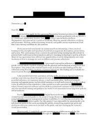 Cover Letter For Curator Position