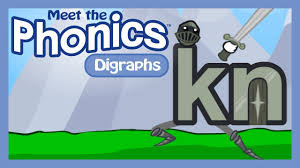 Phonics teaches a student to read by using the sounds of the letters in a word. Meet The Phonics Digraphs Kn Youtube