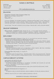 Examples Of Great Resumes Best Of Masters Degree Resume Unique