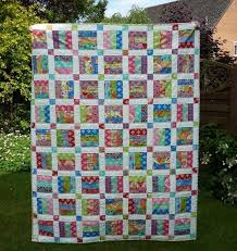 Jelly Roll Patterns Adorable Easy Jelly Roll Quilt Pattern 48 Sizes Craftsy
