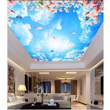 3d Ceiling Design Wallpaper Amazon Com 3d Ceiling Murals Wallpaper Custom Photo Non