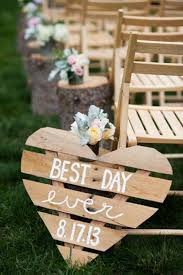 best day ever wedding sign
