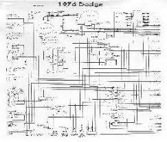 circuit and wiring diagram 1976 dodge wiring diagram wiring diagram and electrical system schematic it shows the interconnection between electrical parts and components of the vehicle such as