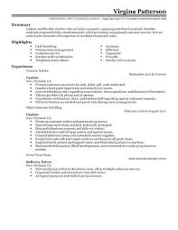 Gallery Of Best Restaurant Cashier Resume Example Livecareer