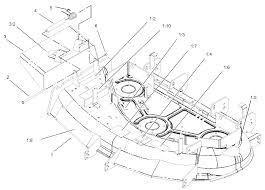 Crankshaft assembly kohler cv20s pro 65593 deck and deflector assembly no 106 5884