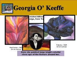 artist famous painters klee monet okeeffe