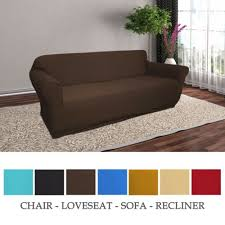 sofa love seat solid colors jersey