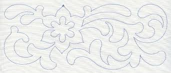 Machine Embroidery Designs at Embroidery Library! - Embroidery Library & Flower Quilting Border (Single Run) Adamdwight.com