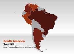 america ppt template south america map tool kit a powerpoint template from