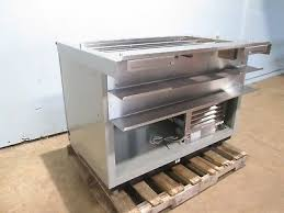 duke sub cp tc48 hd commercial refrigerated 3 wells subway style prep station