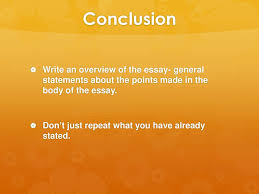 The body of an essay is made up of