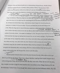 expectation teaching reading and writing steven beckman s   improvement in writing style context and grammar from the first essay earlier in my student teaching to the second essay from the a long way gone unit