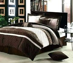 cream bedding cream comforter sets queen brown comforter image of chocolate and cream bedding comforters queen