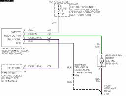 cooling fan wiring diagram wiring diagram i have a 2002 pt cruiser the radiator fan will not e on