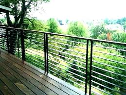 diy deck railing post build deck railing aluminum baers