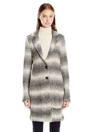 tommy hilfiger women s toggle wool coat with sherpa lined hood xs