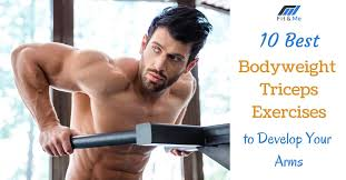 10 best bodyweight triceps exercises to