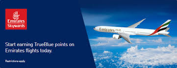 Emirates Trueblue Jetblue