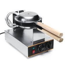 50 250 Listrik Egg Cake Maker Oven Besi Antilengket Waffle Bread