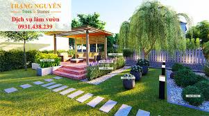Thiết kế sân vườn đơn giản nhưng đầy giá trị sống - Dịch Vụ Làm Vườn