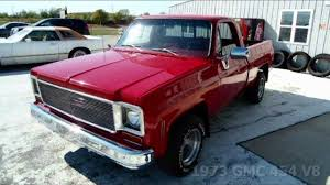 1973 GMC C10 454 Big-Block Pickup Truck - YouTube