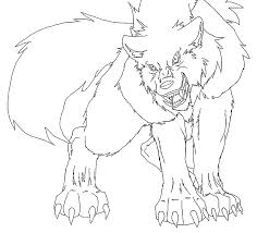 Anime Drawing Pages Anime Wolf Drawings Coloring Pages Printable