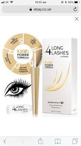 long 4 lashes fx5 power formula eyelash growth enhnacing serum 3ml new