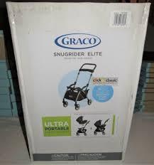 graco snugrider elite infant car seat