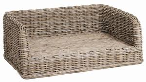 wicker dog bed. Contemporary Bed Large Wicker Dog Bed  And Wicker Dog Bed E