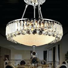 crystal chandelier drum shade crystal chandelier with black drum shade